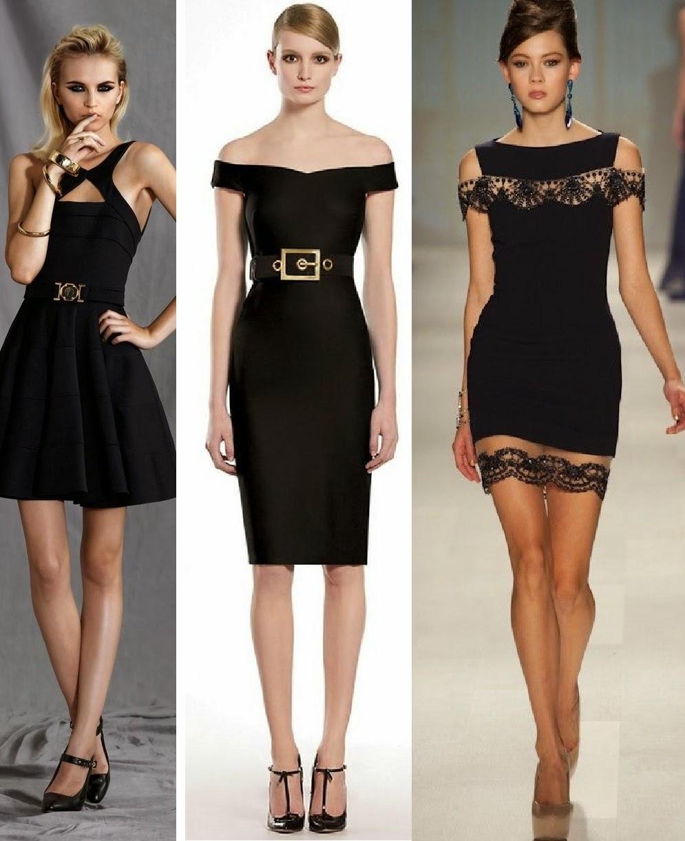 Fotos de vestidos negros para la noche - Fotos de vestidos negros para la noche