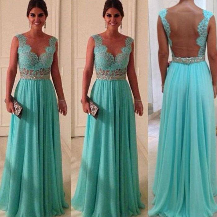 Vestido para una boda de noche