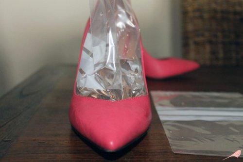 agrandar zapatos con hielo