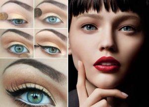 Maquillarse los ojos estilo natural