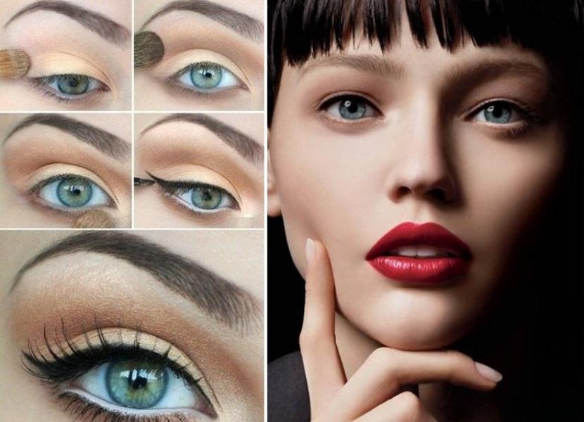 Como hacer una trenza cascada facil for Pintarse los ojos facil