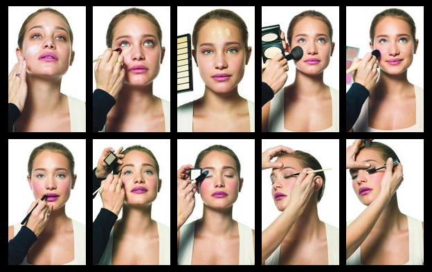 Como maquillarse de dia paso a paso la moda es - Como maquillarse paso apaso ...
