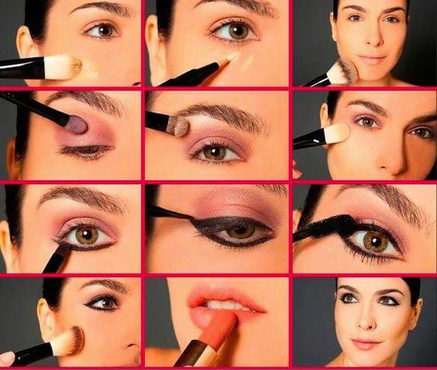 Como maquillarse de dia paso a paso - Como maquillarse paso a paso ...