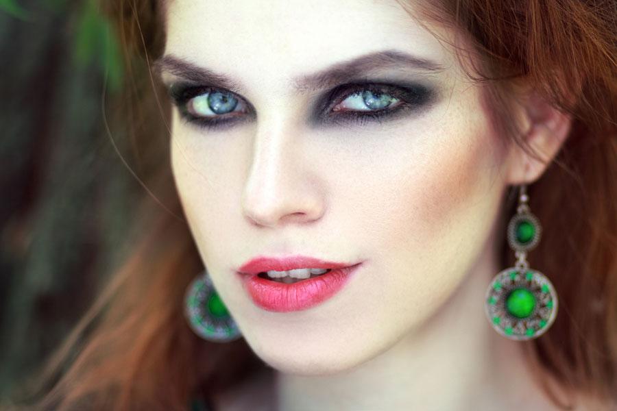 ojos ahumados maquillaje