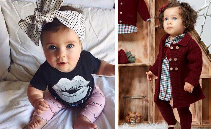 outfit de moda para bebe