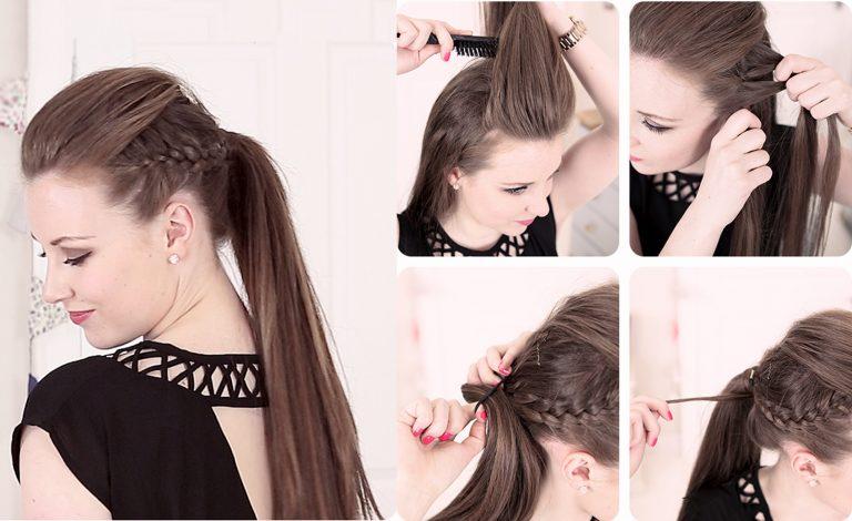 Peinados para fiestas f ciles y elegantes la moda es - Peinados fiesta faciles ...