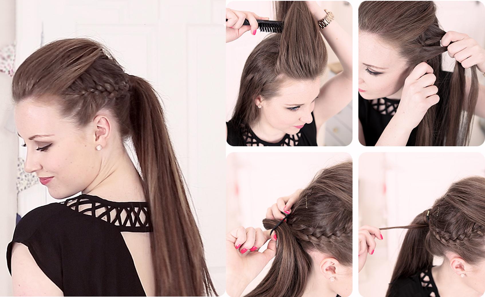 Peinados para fiestas fáciles y elegantes!!