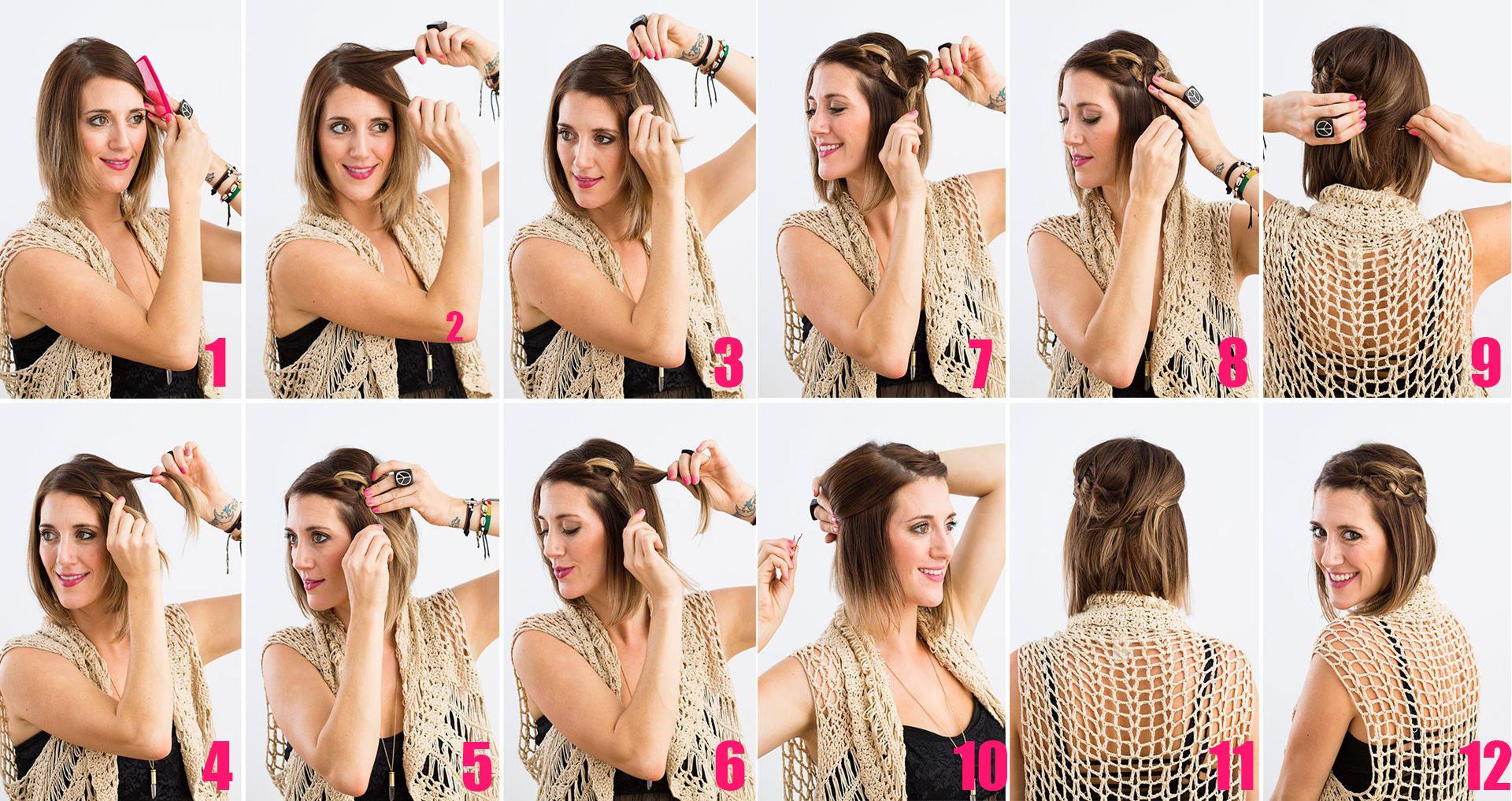 Peinados Para Fiestas Faciles Y Elegantes La Moda Es - Como-hacer-peinados-de-fiesta-faciles-paso-a-paso