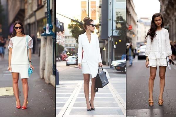 Vestido blanco que zapatos usar