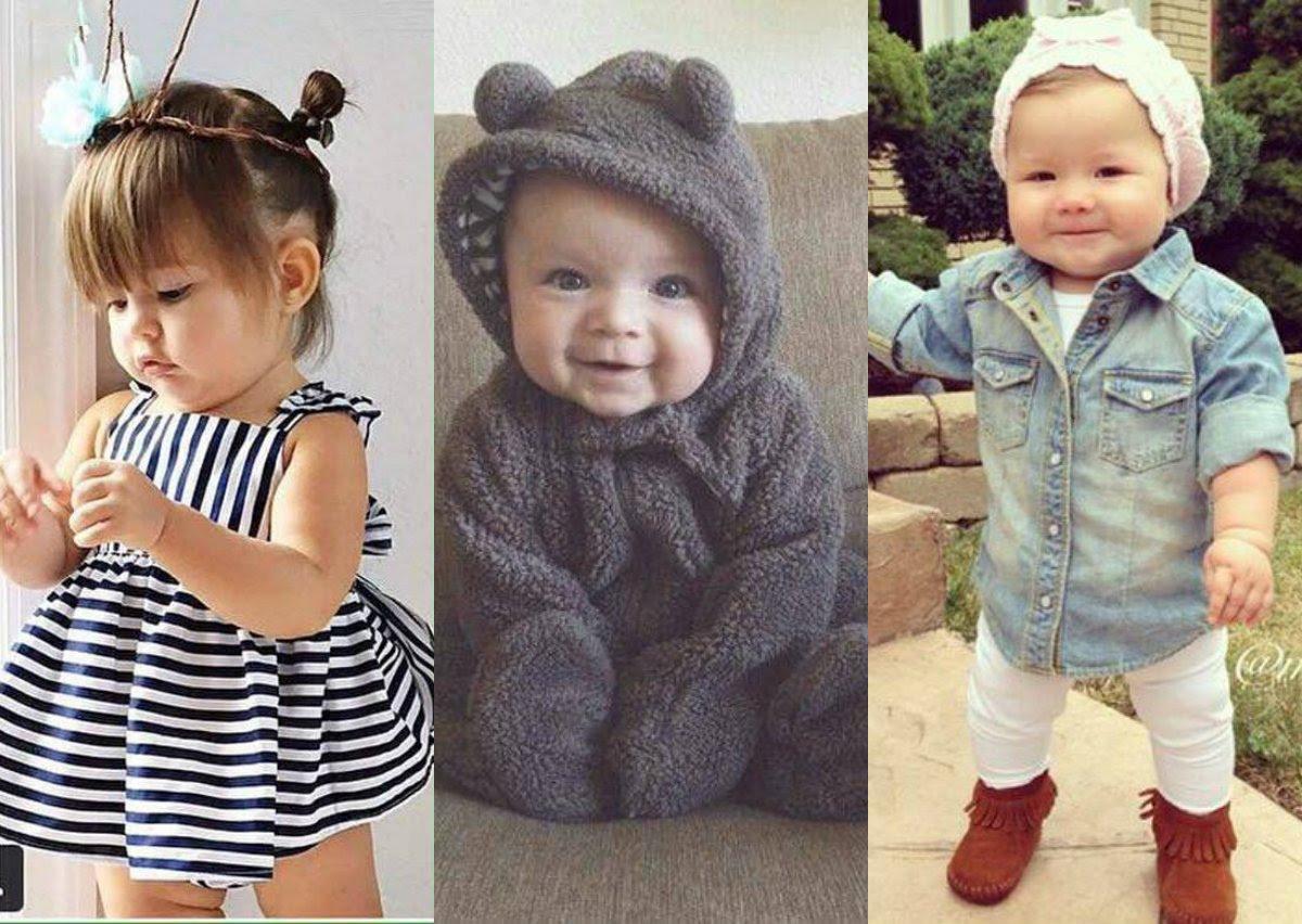 Outfits Ropa de moda para bebes