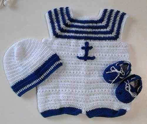 ropa tejida para bebe - Outfits Ropa de moda para bebes