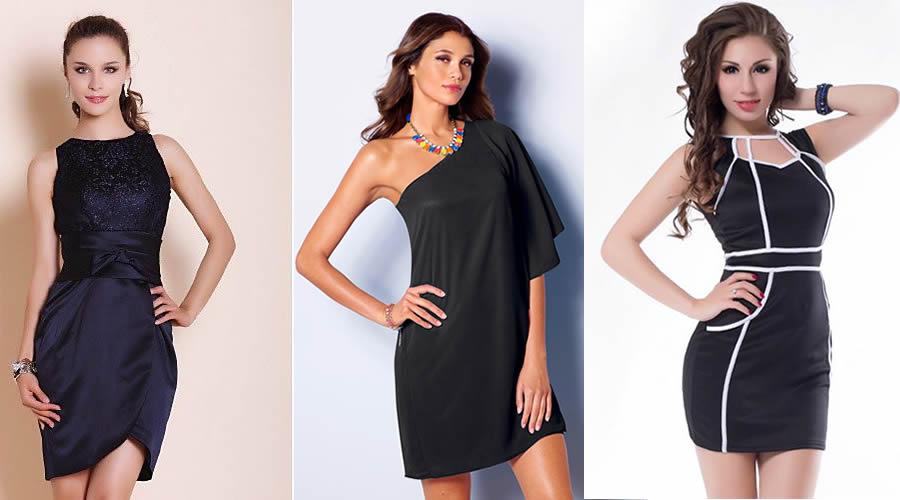 vestidos cortos de ncohe - Vestidos de Noche para cualquier Evento