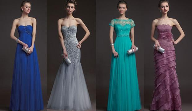 vestidos de noche boda - Vestidos de Noche para cualquier Evento
