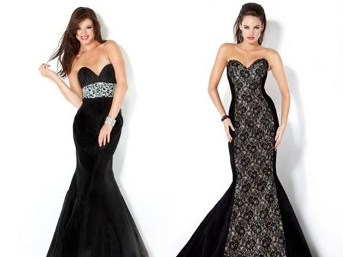 vestidos largos de noche