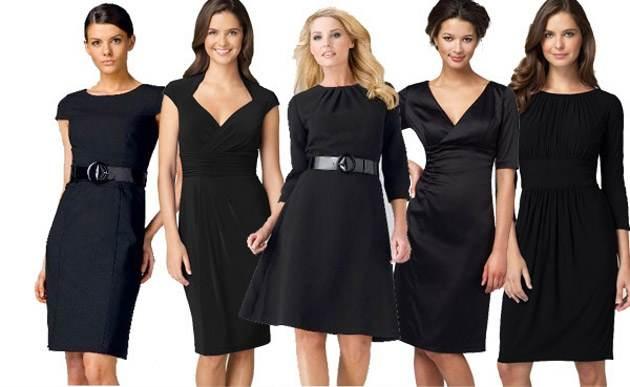 vestidos negros - Fotos de vestidos negros para la noche