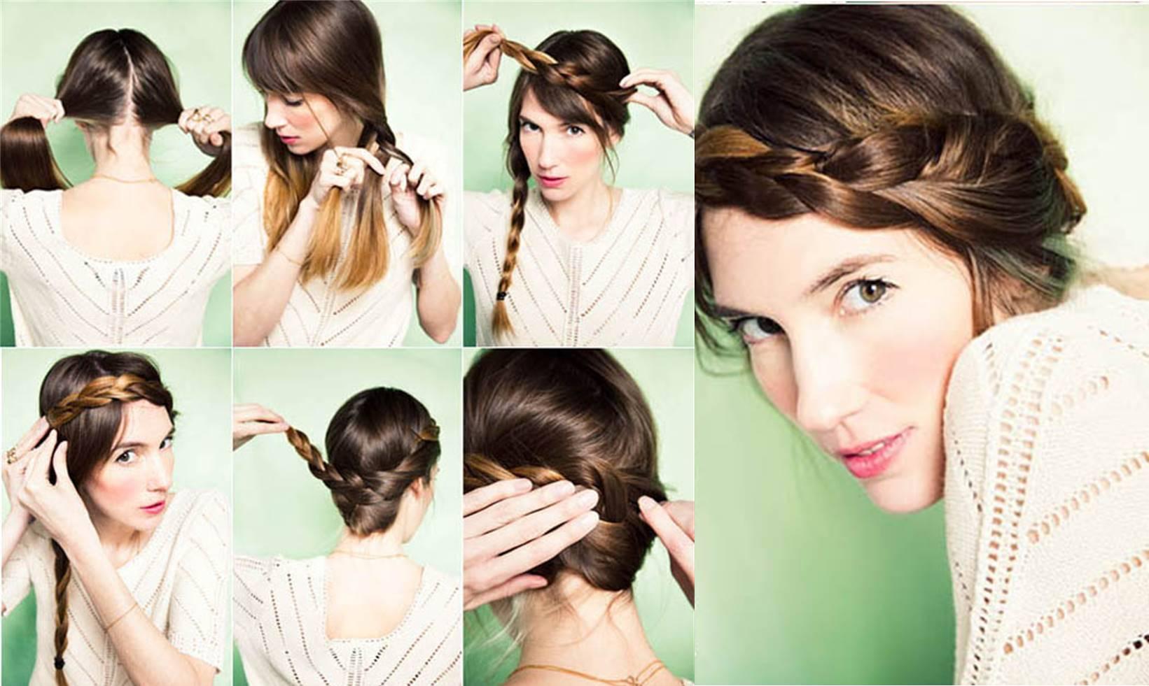 Ideas de peinados con trenzas faciles y rapidos - Ideas de peinados ...