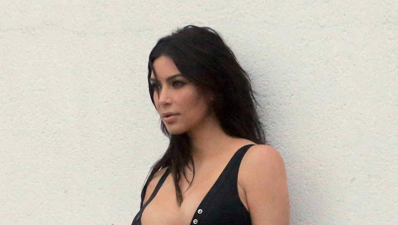 kim Kardashian muestra de más en Nueva York