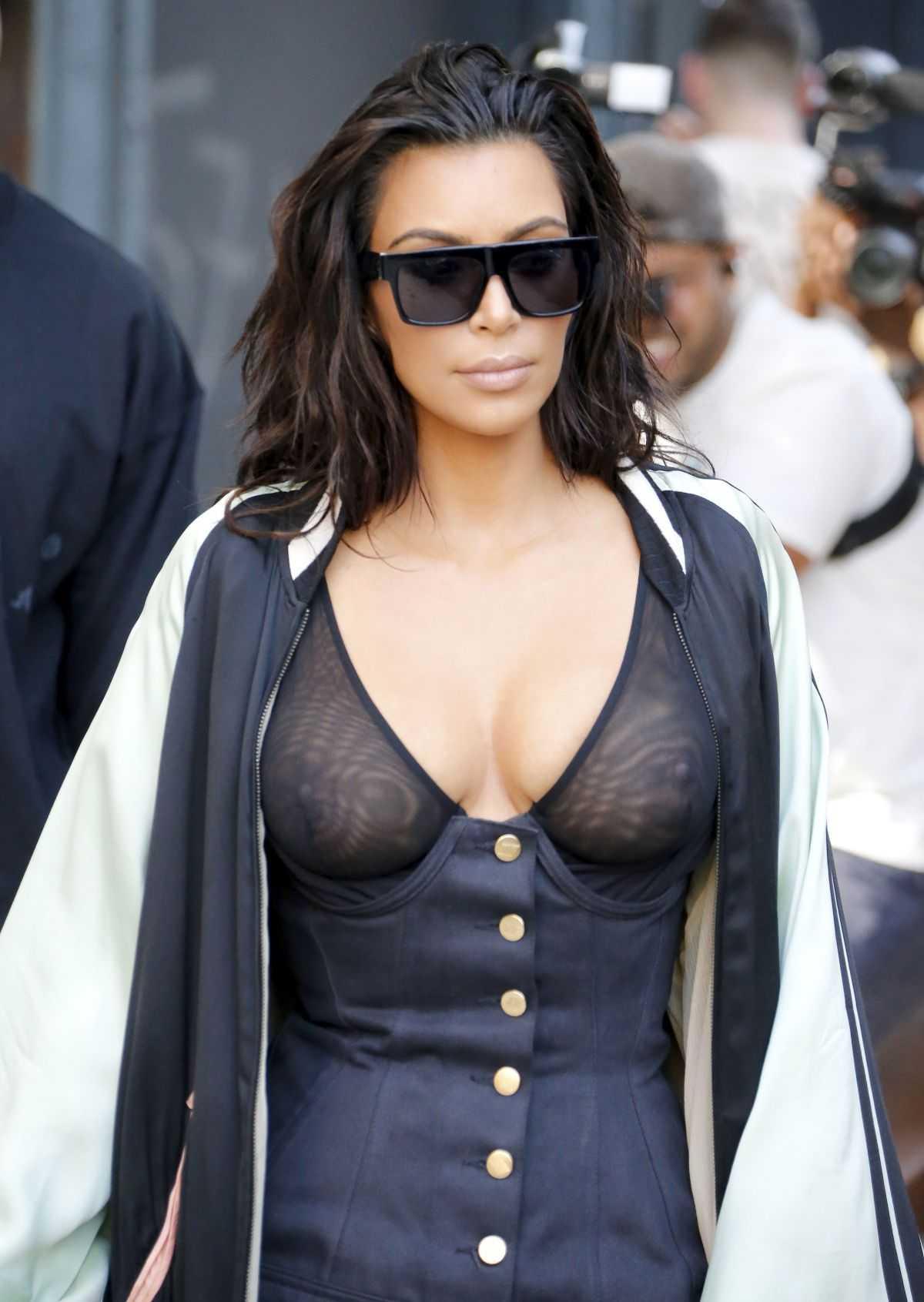 El look de Kim Kardashian en Nueva York