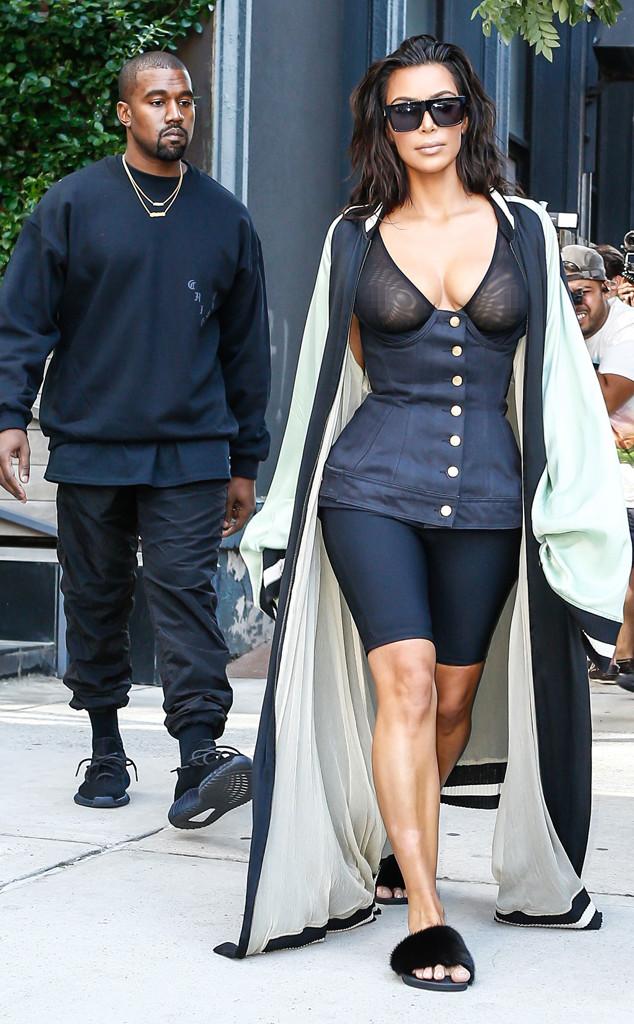 Kim Kardashian muestra de mas en Nueva York