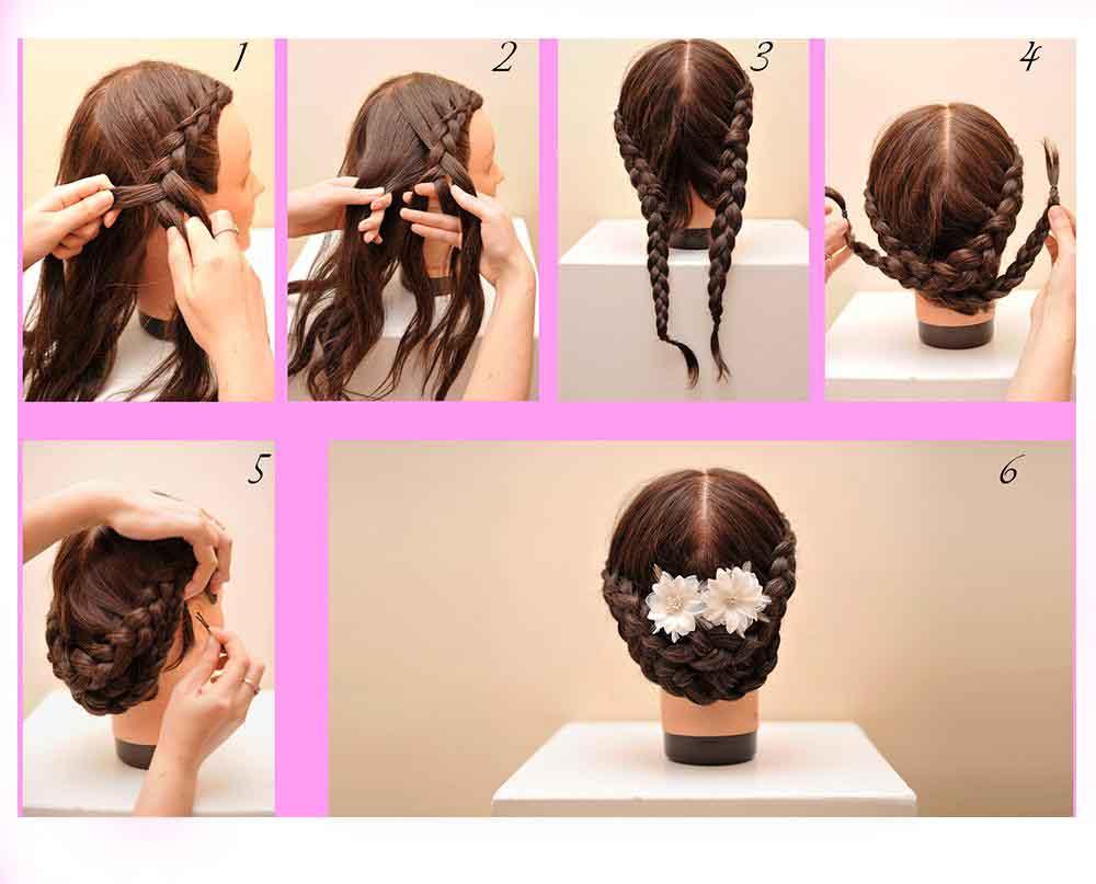 Peinados Pelo Largo Faciles De Hacer With Peinados Pelo Largo