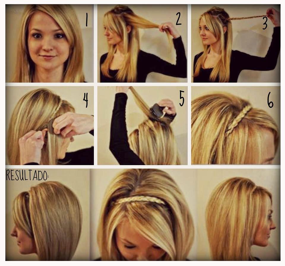Ideas de peinados con trenzas faciles y rapidos la moda es - Peinados fiesta faciles ...