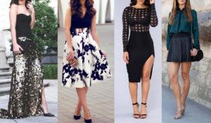 15 Diferentes Tipos y Estilos de Faldas