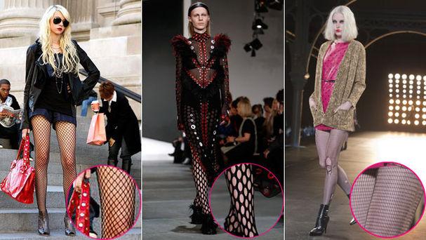 Como usar las medias de moda de las famosas