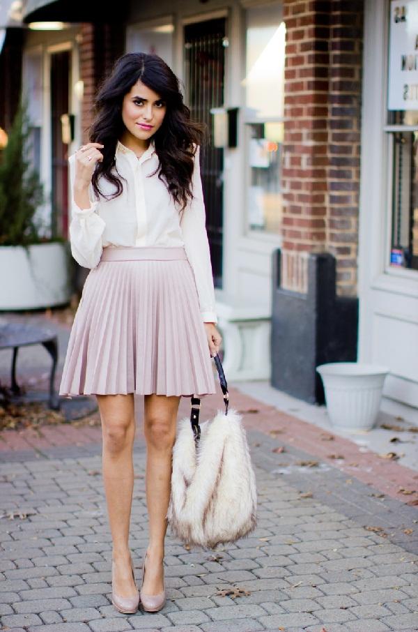 Falda plisada como usarla - 15 Diferentes Tipos y Estilos de Faldas