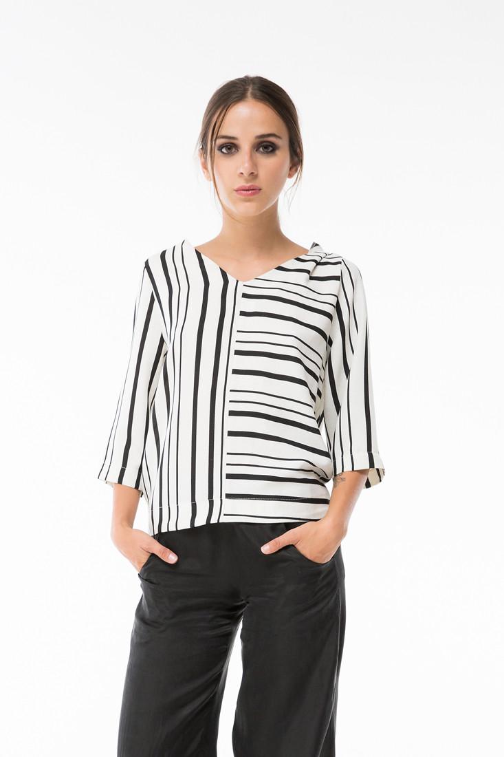 Blusas con rayas como combinarlas correctamente - Rayas horizontales ...
