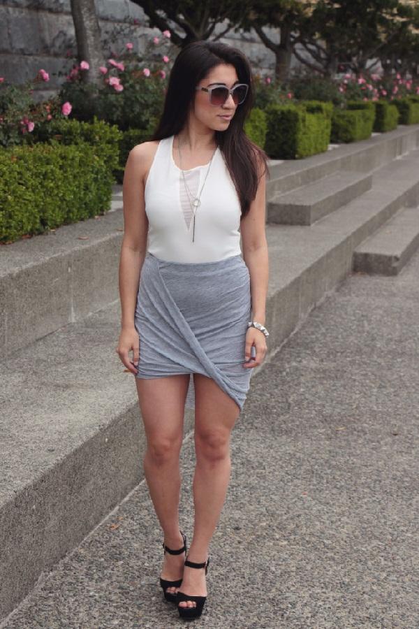 falda-drapeado