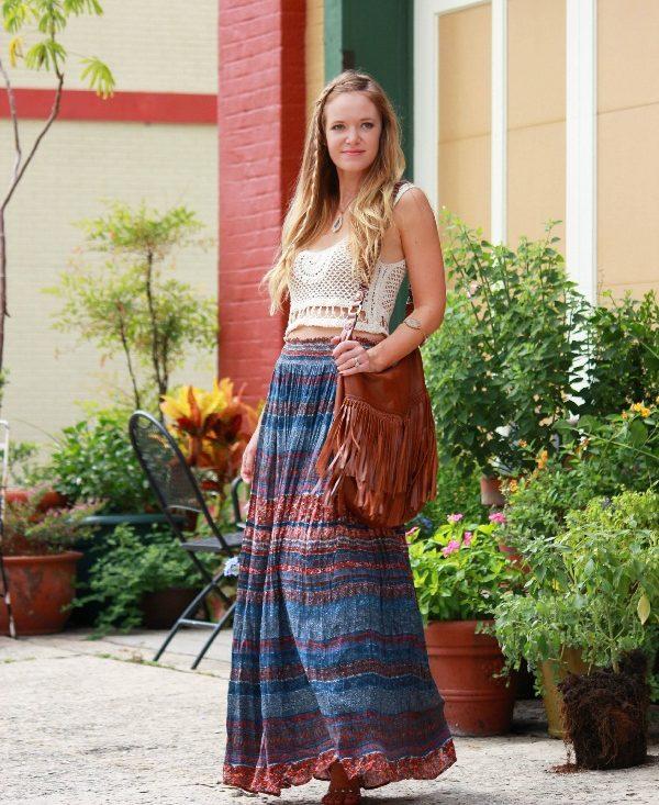 foto de falda gitana e1477929101394 - 15 Diferentes Tipos y Estilos de Faldas
