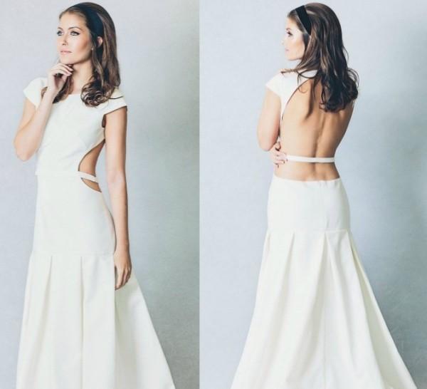 fotografias de vestidos de novia sencillos - Fotos de Vestidos de Novia Sencillos