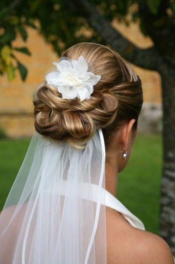 fotos de peinados de novia con velo - Los mejores Peinados de Novia (Fotos)