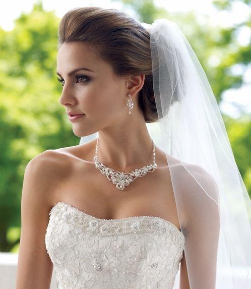 ideas de peinados de novia con velo - Los mejores Peinados de Novia (Fotos)