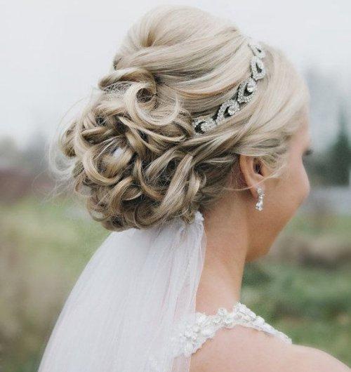 peinado de novia recogido - Los mejores Peinados de Novia (Fotos)