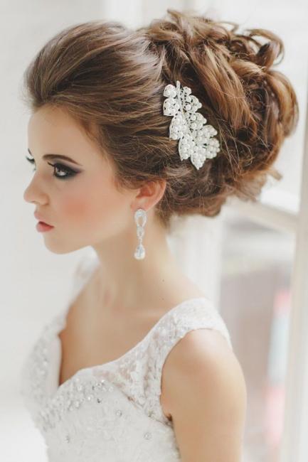 peinados de novia recogido - Los mejores Peinados de Novia (Fotos)