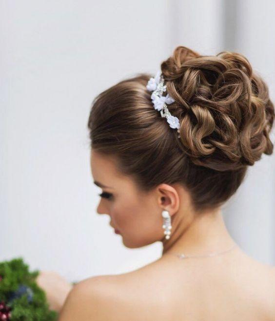 peinados de novias recogidos - Los mejores Peinados de Novia (Fotos)