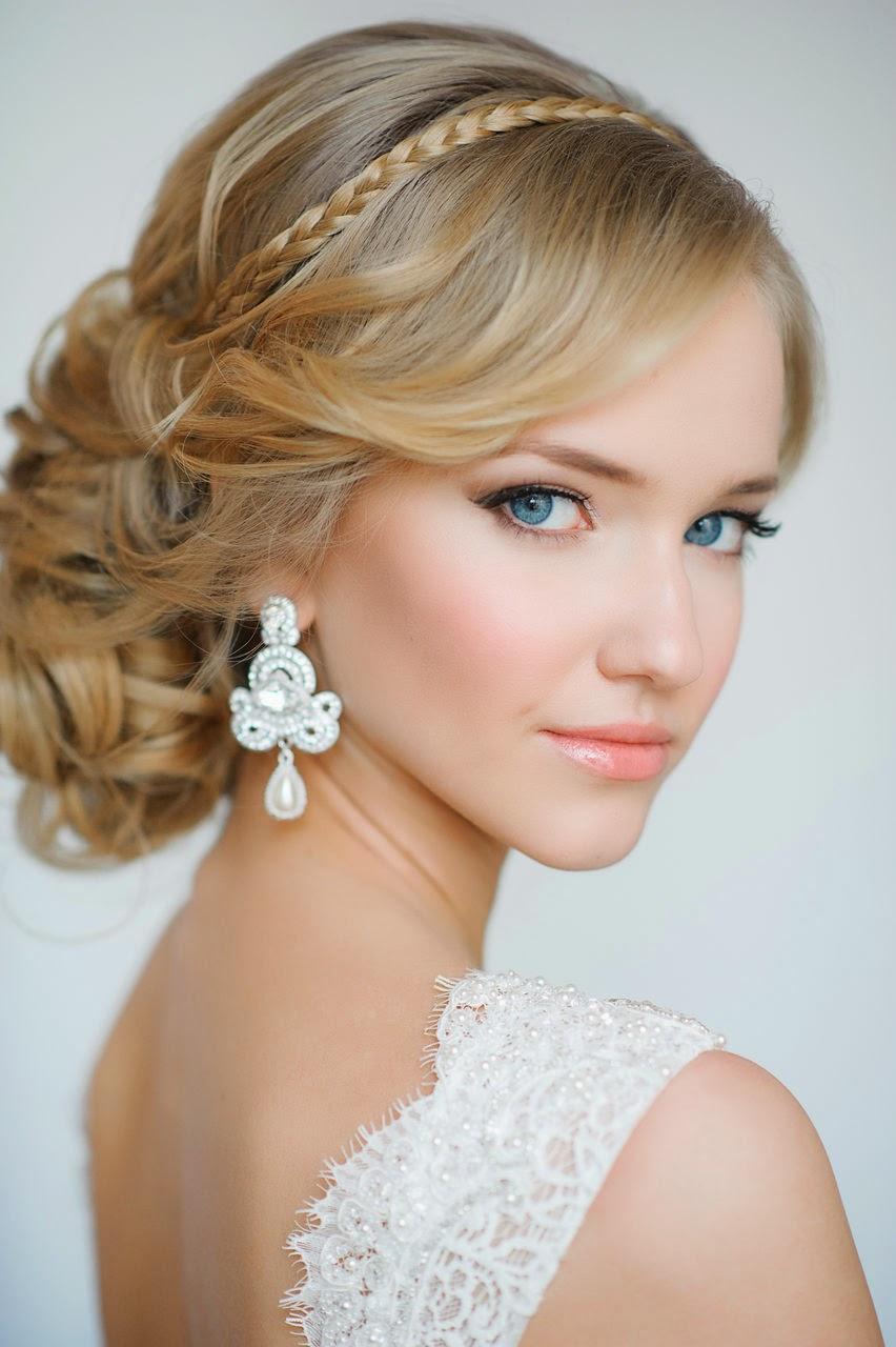 peinados para boda recogido - Los mejores Peinados de Novia (Fotos)