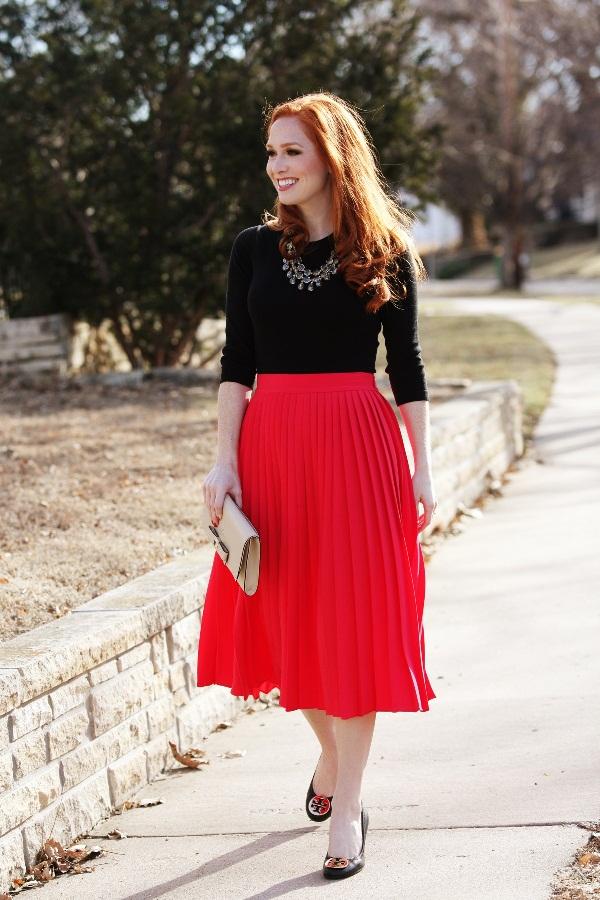 tipo de falda acordeon - 15 Diferentes Tipos y Estilos de Faldas