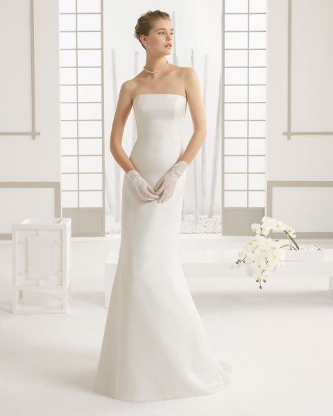 vestidos de novia elegantes pero sencillos - Fotos de Vestidos de Novia Sencillos