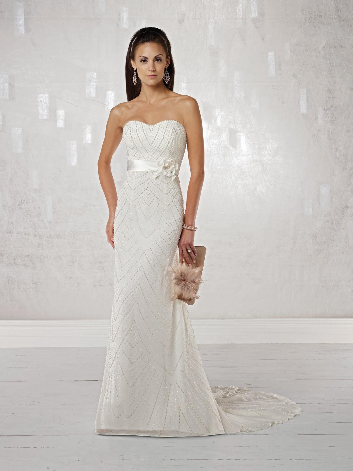 Modas de vestidos de novia sencillos