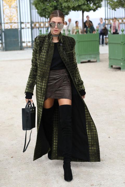 Hailey baldwin - Los mejores abrigos para mujer que usan las famosas