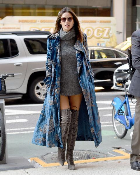 Los mejores abrigos para mujer de las famosas