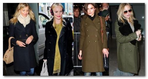Los mejores abrigos para mujer que usan las famosas