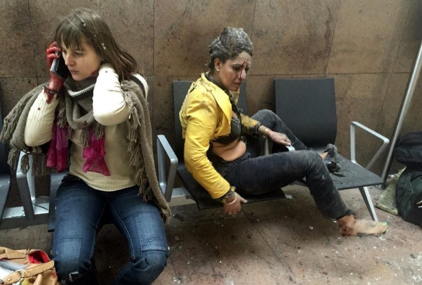 atentados en bruselas - Los Momentos que Conmocionaron al mundo en 2016