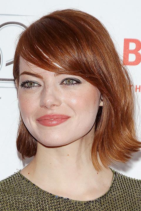 cabello rostro redondo - Los cortes de cabello que te favorecen según tu rostro