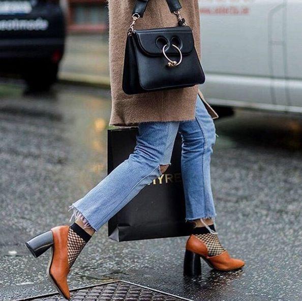calcetines de rejilla - Tendencias Los Calcetines Son La Nueva Moda