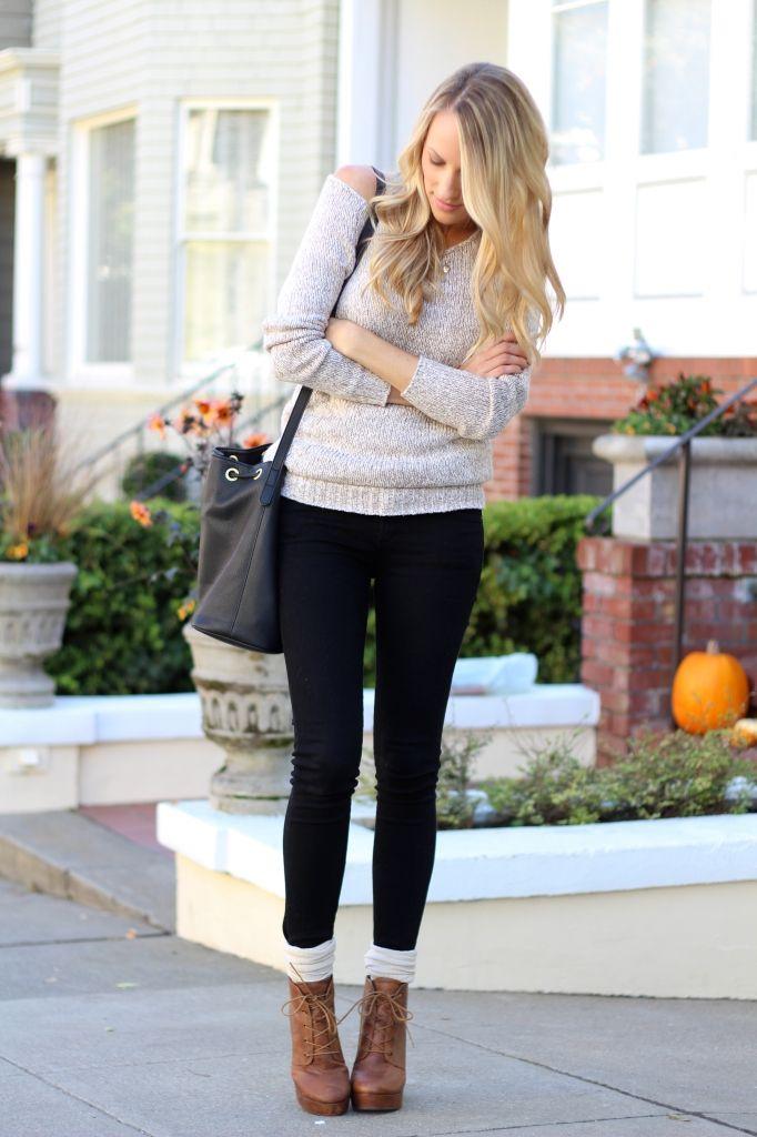 como combinar calcetines blancos - Tendencias Los Calcetines Son La Nueva Moda