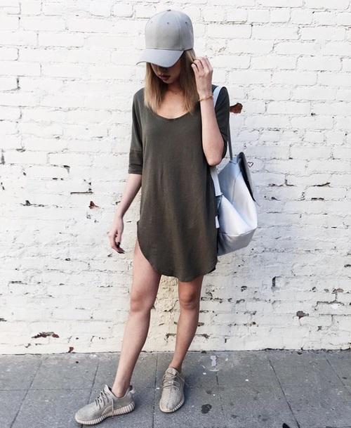 gorra outfit - Como combinar diferentes tipos de sombreros para mujer