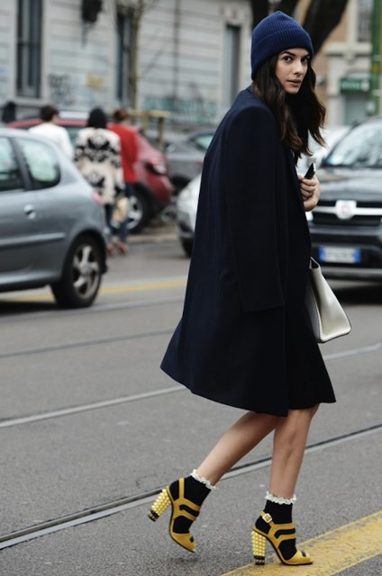 moda con calcetines - Tendencias Los Calcetines Son La Nueva Moda